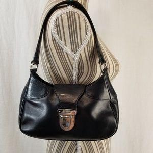 Authentic Vintage Prada Black Leather Purse